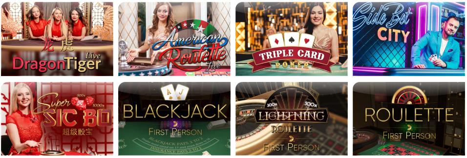 Игры с живыми дилерами в ego casino